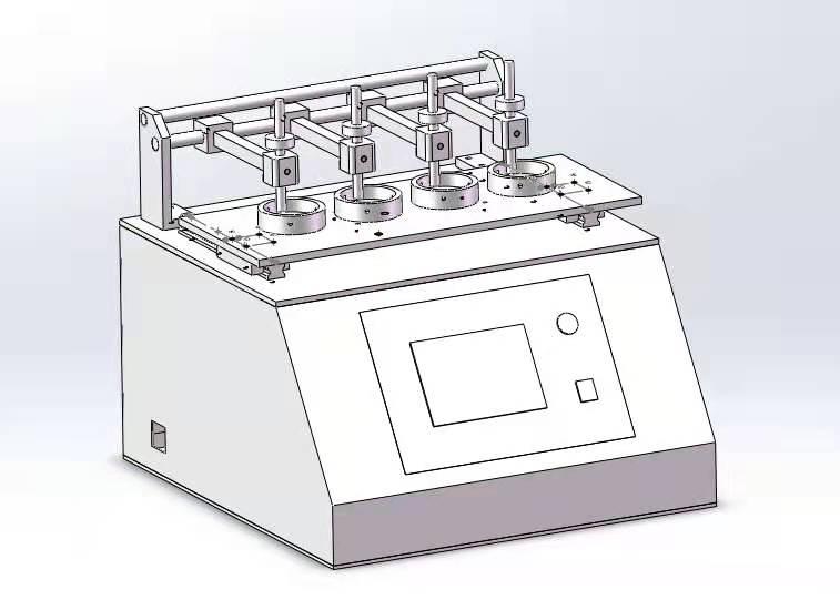 TD-616镜片耐磨测试仪(四工位)